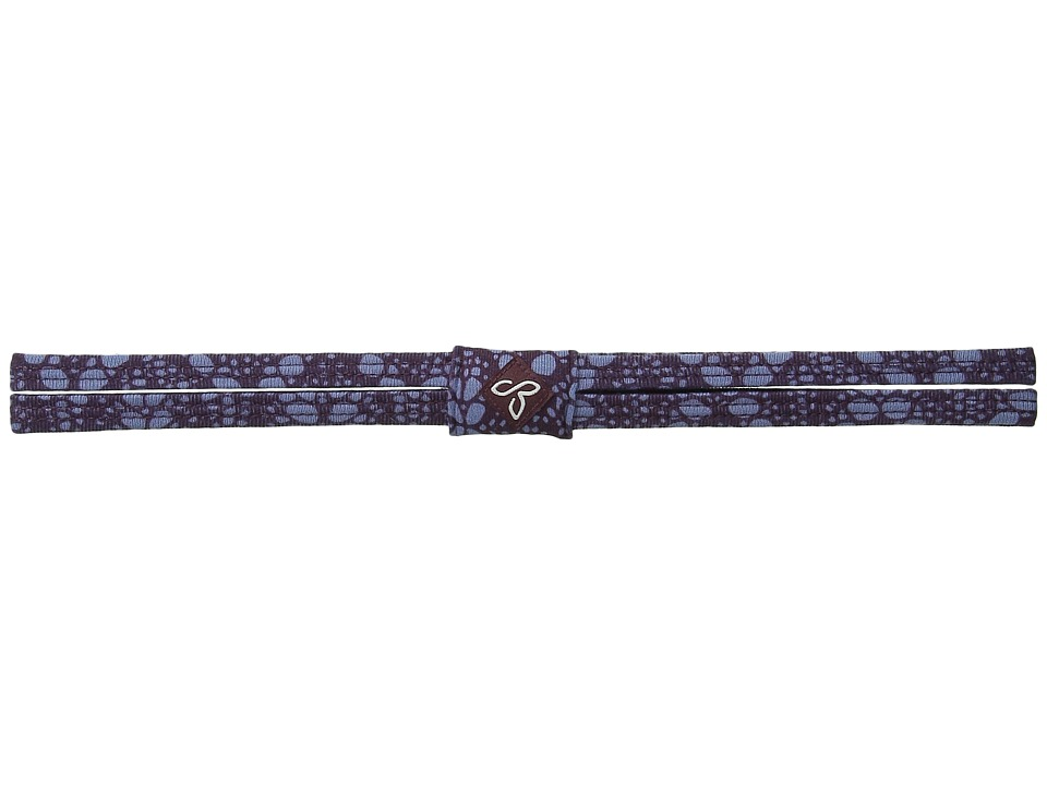 Prana - Printed Double Headband (Plum Baleen) Headband