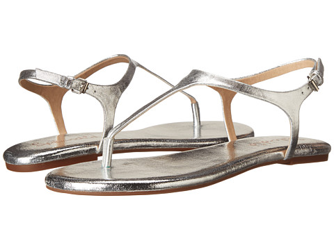 Splendid - Mason (Silver Crinkle Metallic) Women's Sandals
