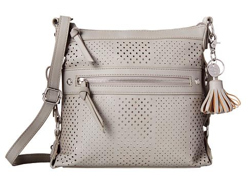Jessica Simpson - Paige Crossbody (Light Grey) Cross Body Handbags