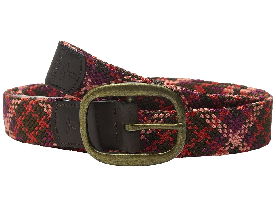 Prana - Rhodes Belt (Plum Red) Women's Belts