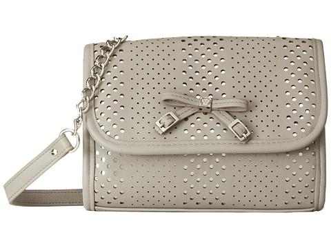 Jessica Simpson - Paige Mini Flap (Light Grey) Handbags