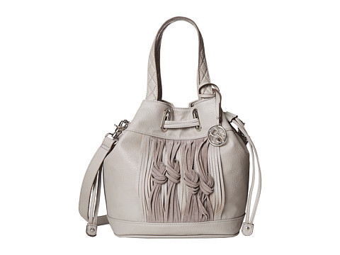 Jessica Simpson - Iris Drawstring (Light Grey) Drawstring Handbags