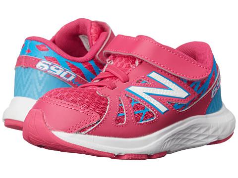New Balance Kids - 690v4 (Infant/Toddler) (Pink/Blue) Girls Shoes