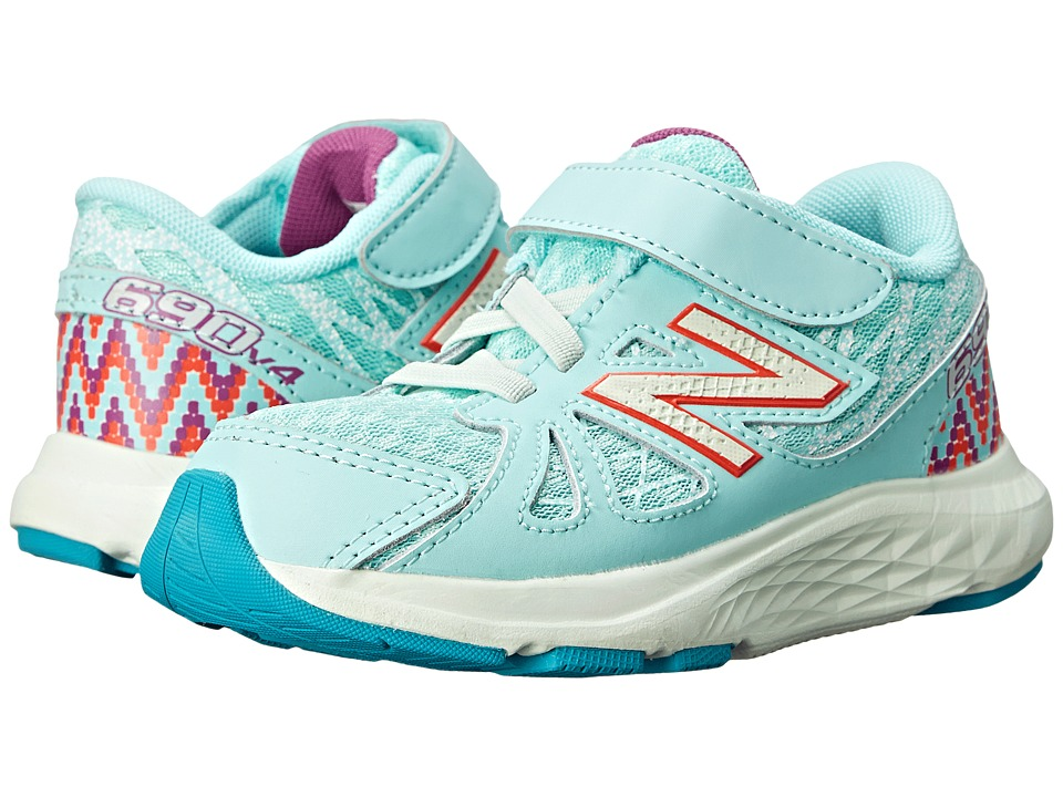 New Balance Kids - 690v4 (Infant/Toddler) (Blue/Purple) Girls Shoes