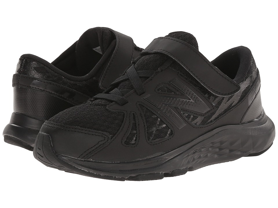 New Balance Kids - 690v4 (Little Kid) (Black/Black) Kids Shoes