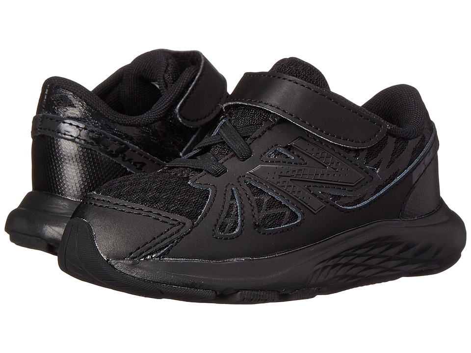 New Balance Kids - 690v4 (Infant/Toddler) (Black/Black) Kids Shoes