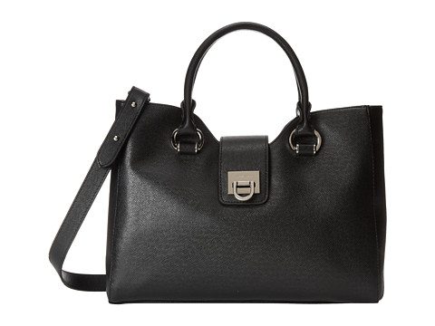 Ivanka Trump - Rebecca Satchel (Black) Satchel Handbags