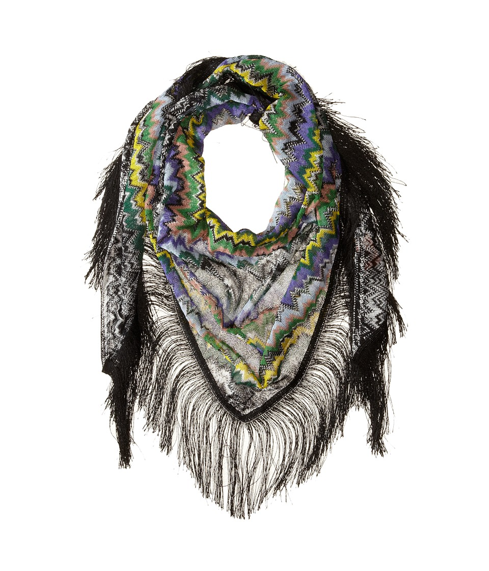 Missoni - ST1SVMD4885 (Purple/Green) Scarves