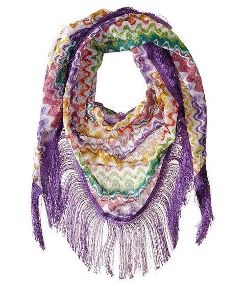 Missoni - ST1SVMD4891 (Purple/Green) Scarves