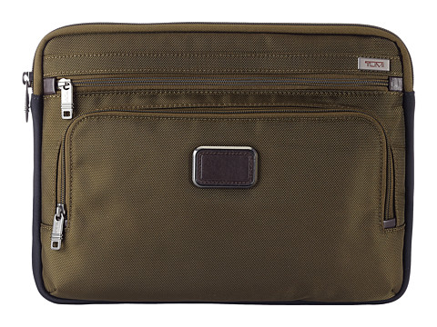Tumi - Alpha 2 Medium Laptop Cover (Olive) Computer Bags