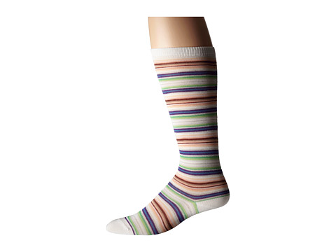 Missoni - GM00CMD4938 (Blue/Purple) Men's Knee High Socks Shoes