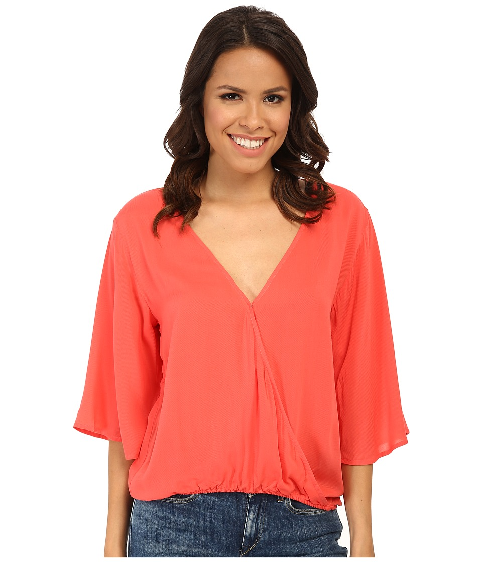 BB Dakota - Annerose Woven Top (Juice) Women's Clothing