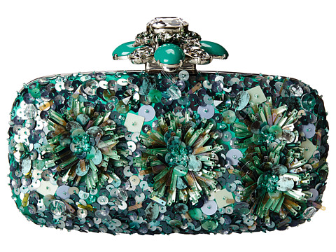 Oscar de la Renta - Cabochon Goa (Jade) Clutch Handbags