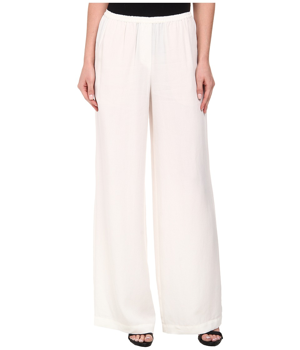 BCBGMAXAZRIA - Nalan Wide Leg Pants (Off White) Women