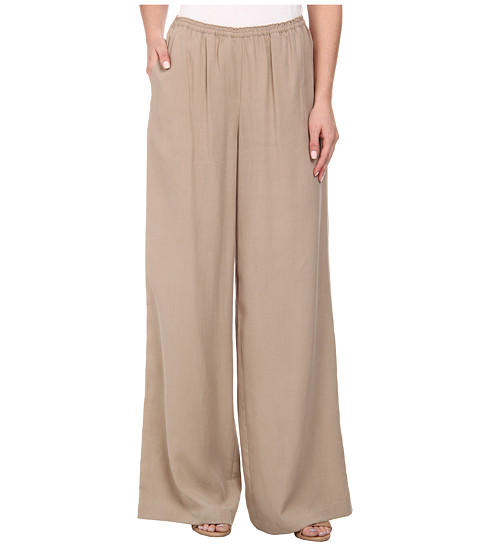 BCBGMAXAZRIA - Nalan Wide Leg Pants (Khaki) Women's Casual Pants