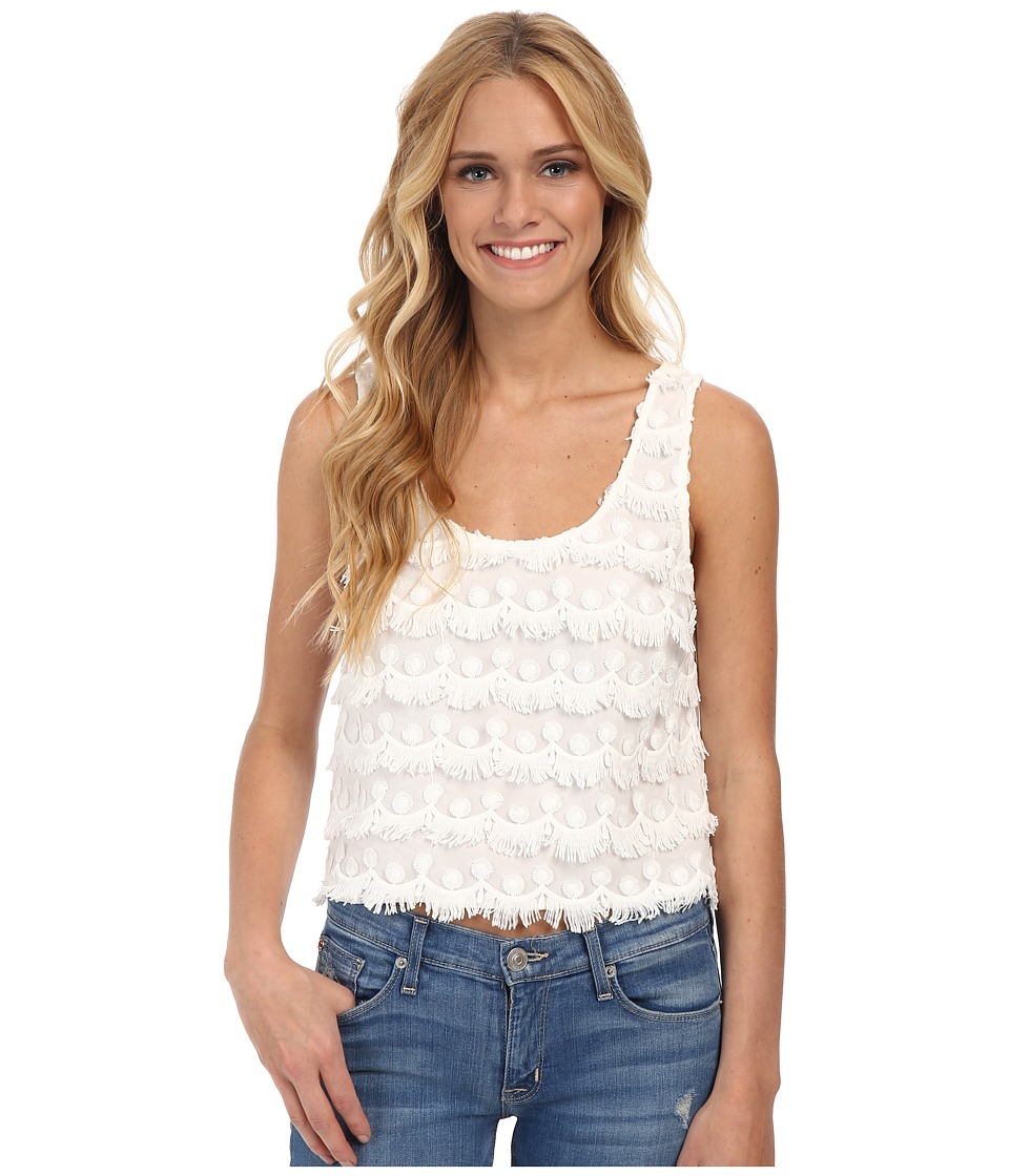 BB Dakota - Janet Woven Top (Ivory) Women's Clothing