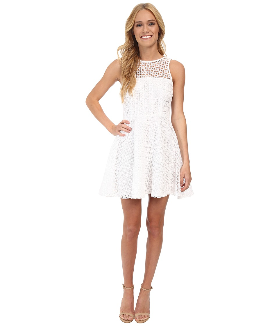 BB Dakota - Danica Dress (Optic White) Women's Dress