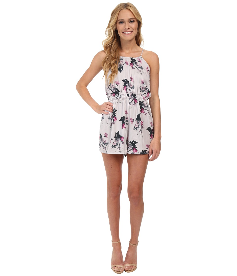 Image of BB Dakota - Amina Romper (Grey) Women's Jumpsuit & Rompers One Piece