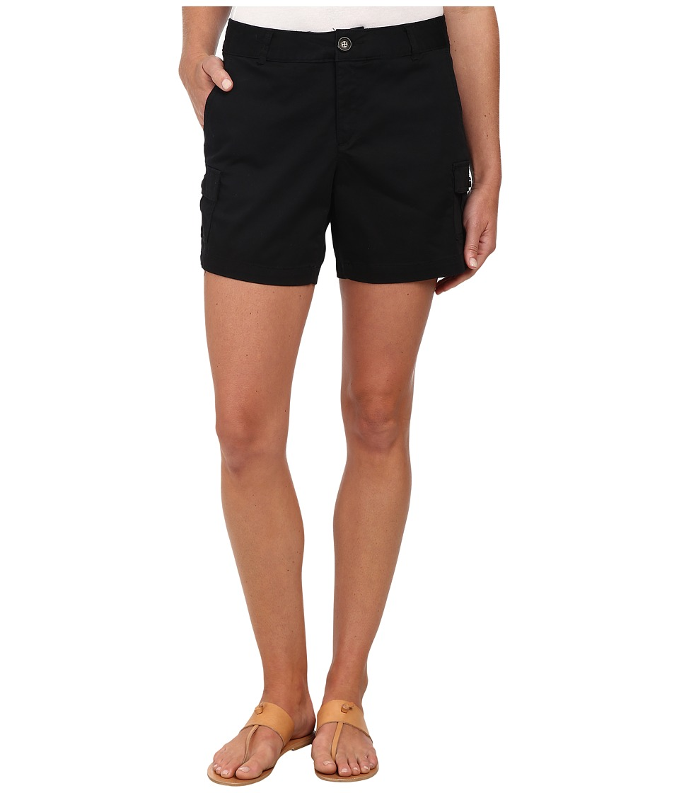 Dockers Misses - Trapunto Stitch Cargo Shorts (Black) Women's Shorts