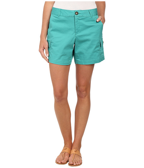 Dockers Misses - Trapunto Stitch Cargo Shorts (Sea Green) Women's Shorts