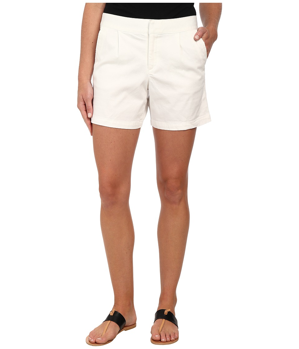 Dockers Misses - Pleated Front Shorts (White) Women's Shorts