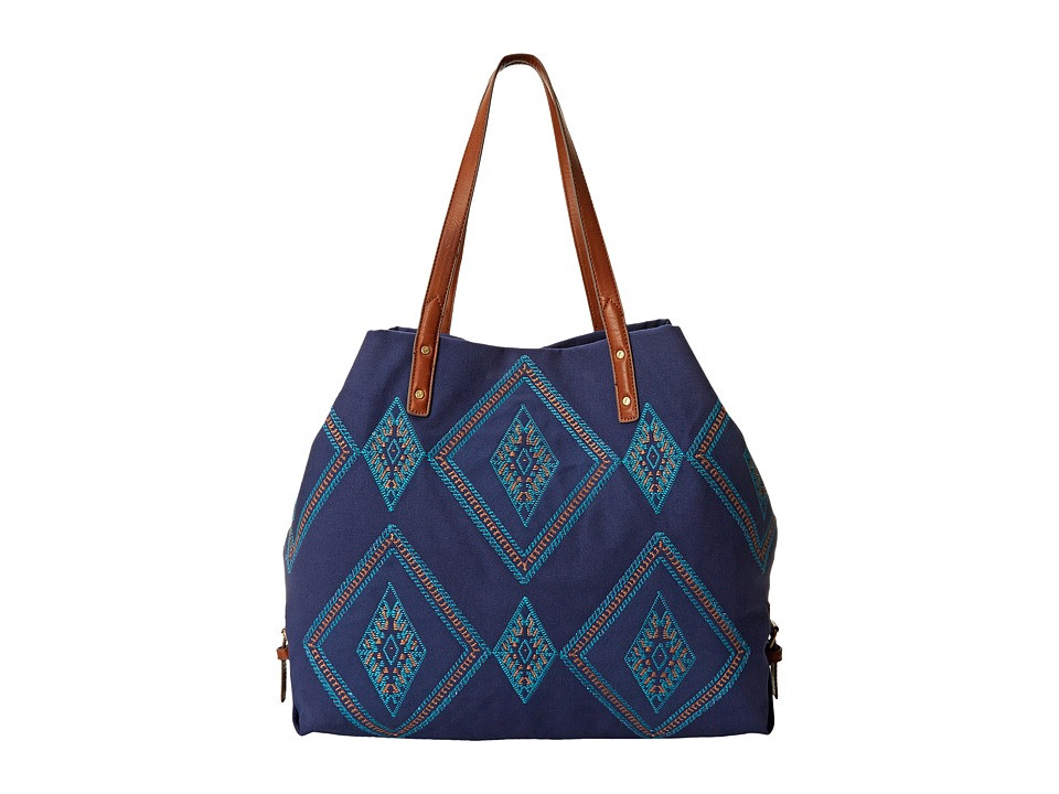 Lucky Brand - Serena Tote (Midnight Blue) Tote Handbags