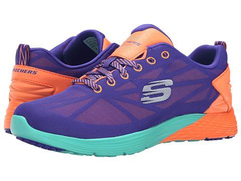 SKECHERS - Valeris (Purple Orange) Women's Shoes