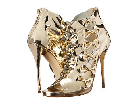 Oscar de la Renta - Talina 115mm (Platinum Specchio) Women's Toe Open Shoes