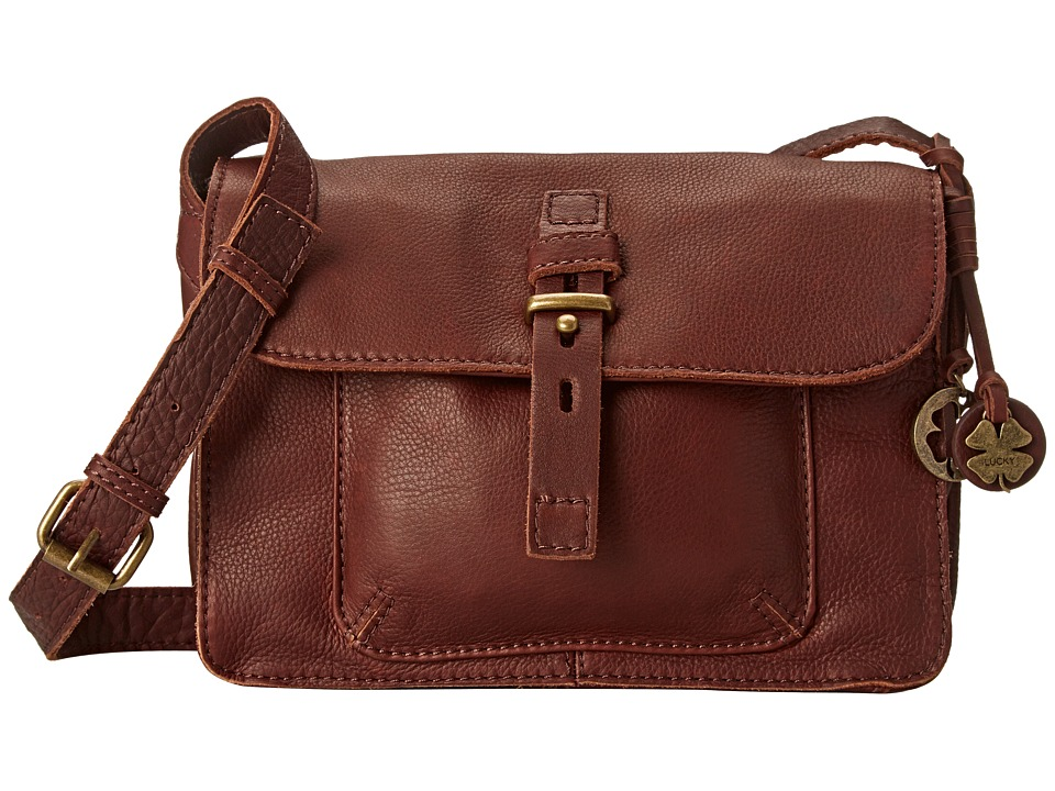 Lucky Brand - Medine Shoulder Bag (Brandy) Shoulder Handbags