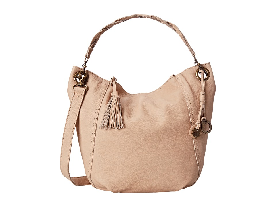 Lucky Brand - Ashmore Leather Bucket (Pinenut) Handbags