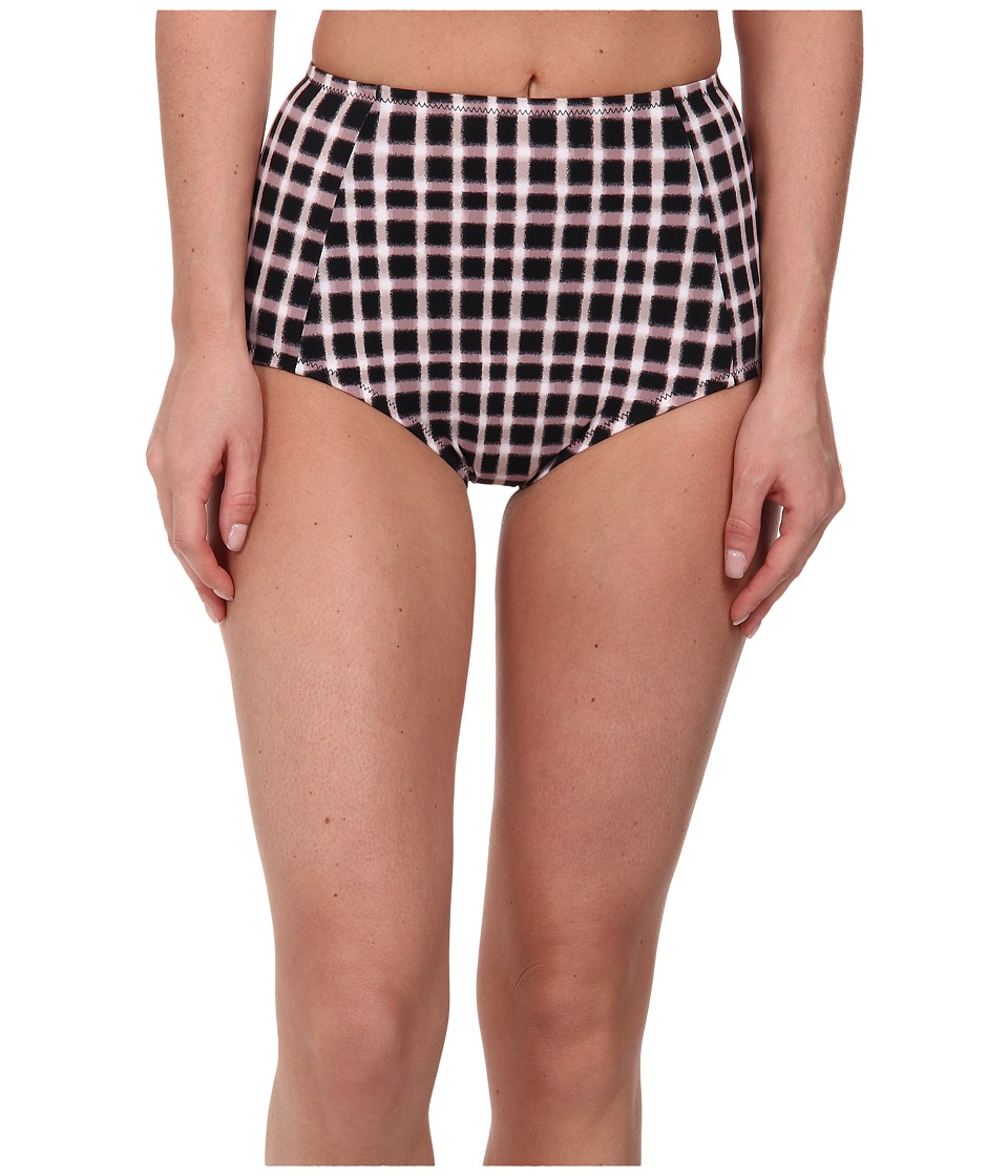 Marc by Marc Jacobs - Charlotte(C) Hi Waisted Bottom (Black Multi) Women's Swimwear
