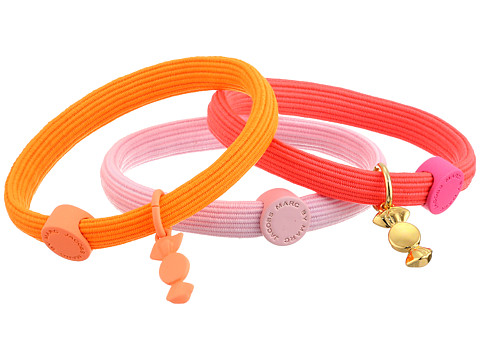 Marc by Marc Jacobs - Candy Ponies (Neon Orange Multi) Hair Accessories