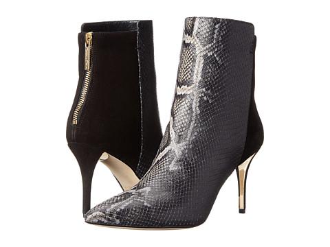 Oscar de la Renta - Edelia 85mm (Black Snake Print Leather) Women