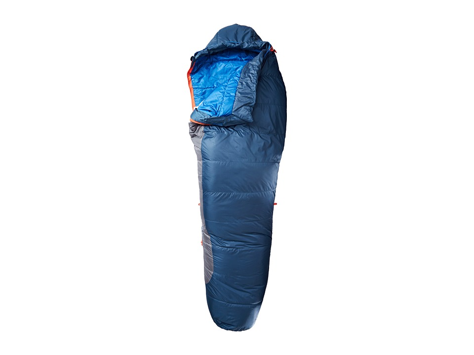 Kelty - Dualist 22 Degree 550 Fill Thermadri Sleeping Bag - Long Right Hand (Dark Slate) Outdoor Sports Equipment
