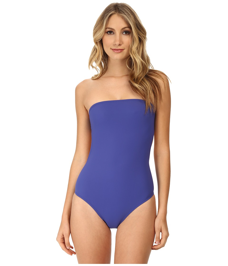 Marc by Marc Jacobs - Lily Strapless Monokini (Bohemian Blue) Women's Swimsuits One Piece