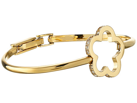 Marc by Marc Jacobs - Diamonds and Daisies Daisy Window Hinge Bracelet (Crystal/Oro) Bracelet