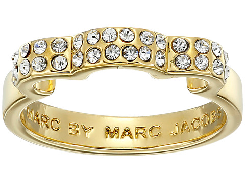 Marc by Marc Jacobs - Diamonds and Daisies Daisy Window Ring (Crystal/Oro) Ring