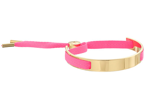 Marc by Marc Jacobs - Key Items Small Ribbon Friendship Bracelet (Knock Out Pink) Bracelet