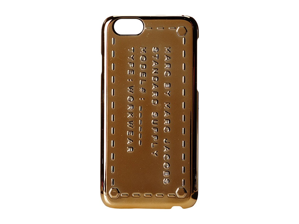 Marc by Marc Jacobs - Phone Cases Standard Supply Phone 6 Case (Metallic Rose Gold) Cell Phone Case