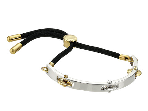 Marc by Marc Jacobs - Key Items Tambourine Friendship Bracelet (Black Multi) Bracelet
