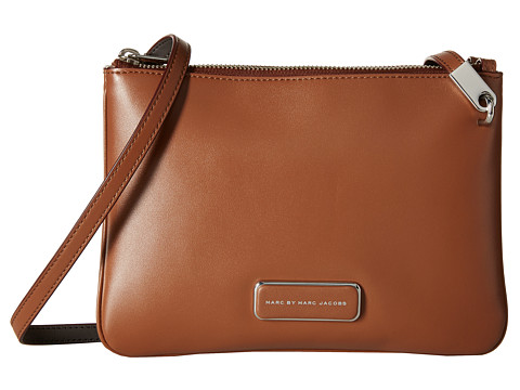 Marc by Marc Jacobs - Ligero Double Percy (Cinnamon Stick Multi) Cross Body Handbags