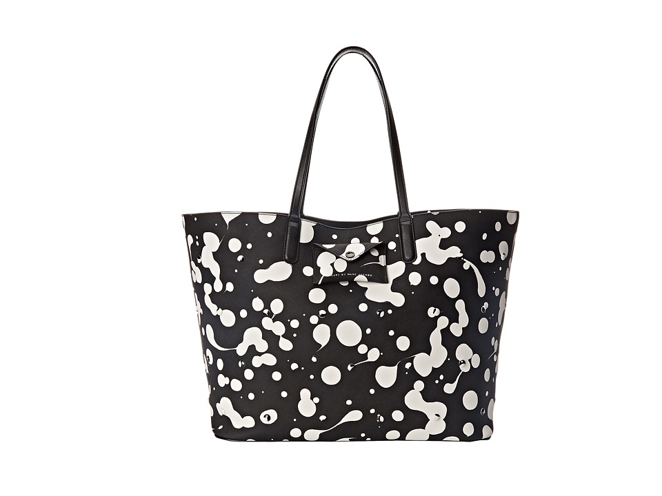 Marc by Marc Jacobs - Metropoli Oil Drops Stud Travel Tote (Blackest Multi) Tote Handbags