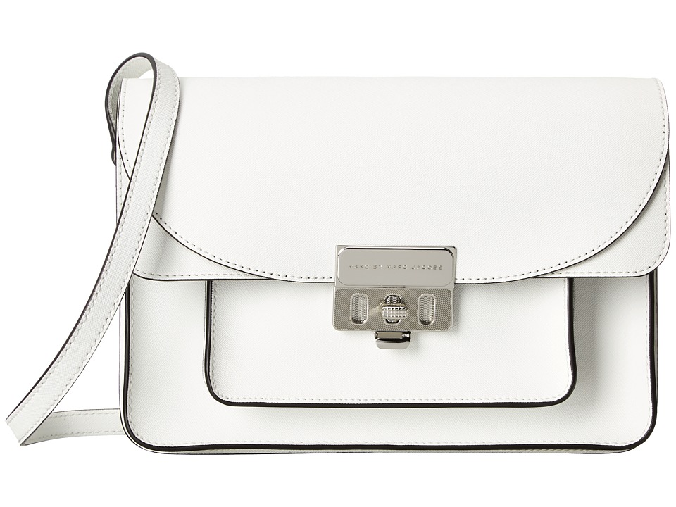Marc by Marc Jacobs - Lip Lock Messenger (Star White) Messenger Bags