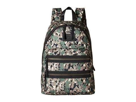 Marc by Marc Jacobs - Domo Arigato Brush Tips Packrat (Dark Moss Multi) Backpack Bags