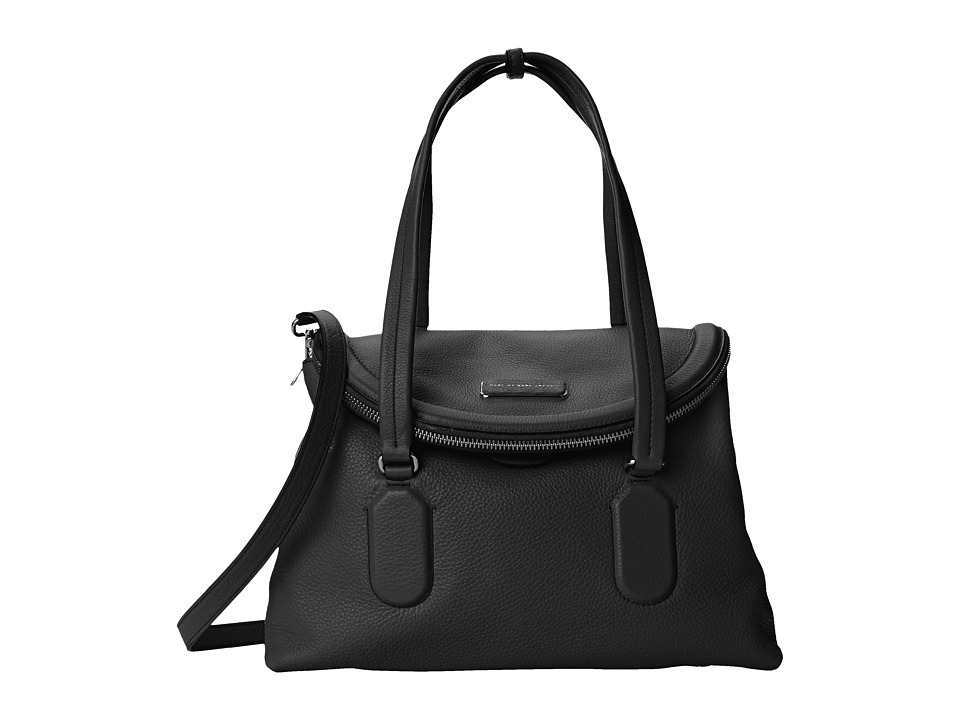 Marc by Marc Jacobs - Silicone Valley Satchel (Black) Satchel Handbags