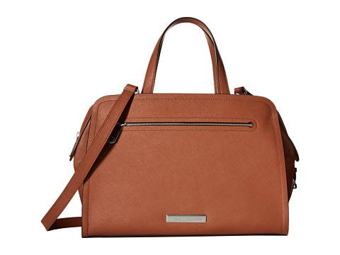 Marc by Marc Jacobs - Luna Saffiano Alaina (Cinnamon Stick) Handbags
