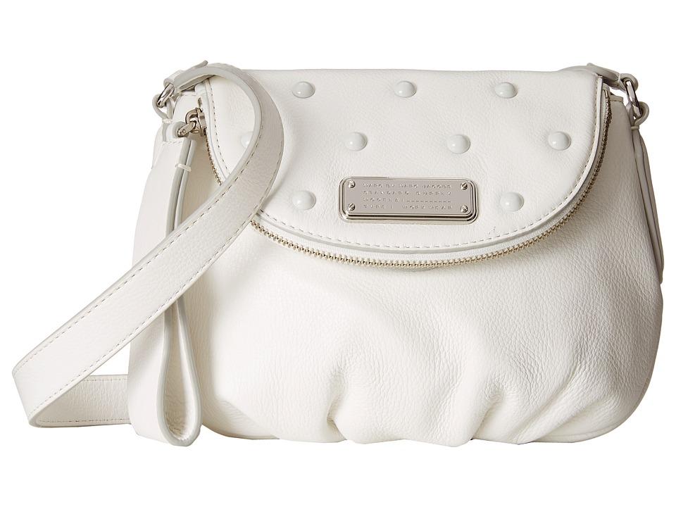 Marc by Marc Jacobs - New Q Studs Mini Natasha (Star White) Handbags
