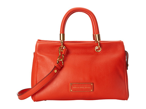 Marc by Marc Jacobs - Too Hot To Handle Satchel (Bright Tangelo) Satchel Handbags