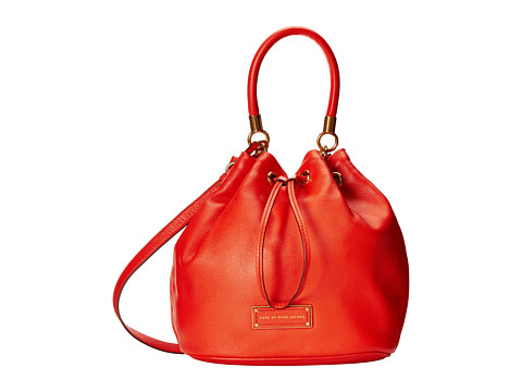 Marc by Marc Jacobs - Too Hot To Handle Drawstring (Bright Tangelo) Drawstring Handbags