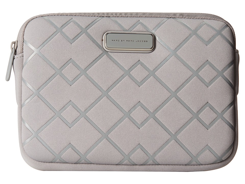 Marc by Marc Jacobs - Crosby Neoprene Mini Tablet Case (Storm Cloud) Computer Bags